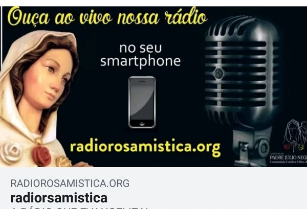 Rádio Rosa Mística DF